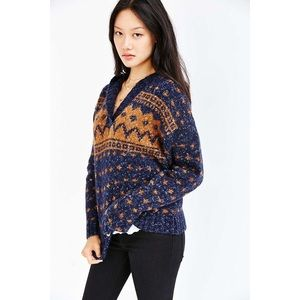 Urban Outfitters BDG By The Fire Hooded Sweater